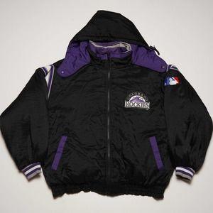 Reversible Colorado Rockies Pro Player Jacket